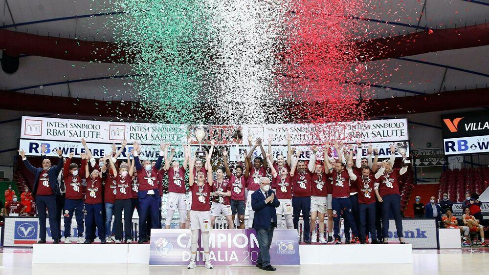 Umana Reyer Femminile Campione d'Italia